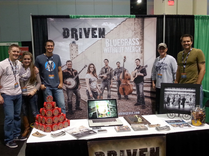 Driven IBMA booth